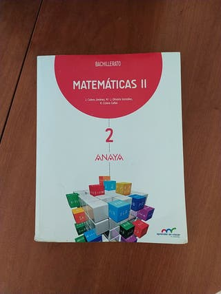 Matemáticas II 2 Bach