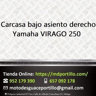 Carcasa bajo asiento derecho Yamaha VIRAGO 250