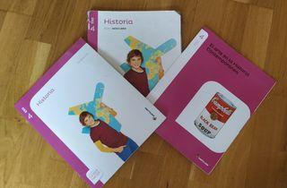 Libro historia 4° ESO Editorial Santillana