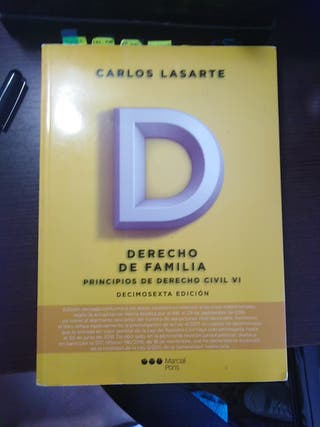 Libro Civil Derecho de Familia UNED