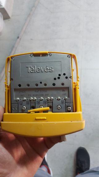 receptor-amplificador televes