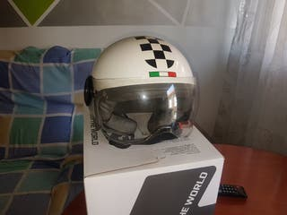 casco moto semi integral