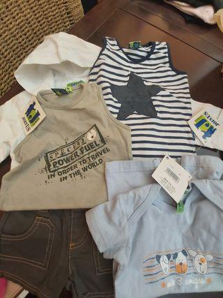ropa bebé sin estrenar