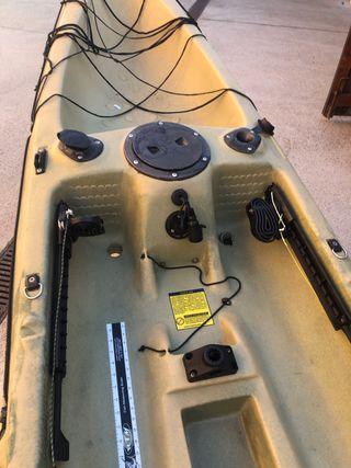 Kayak vela completo