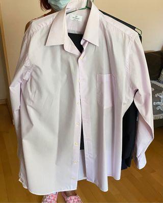 Traje con pantalón chaleco y camisa talla 48
