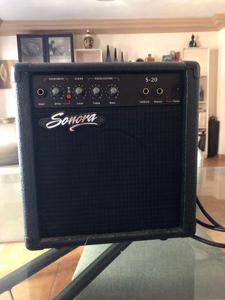 Amplificador de audio Sonora
