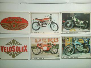 """Cromos de """"moto 2000"""" años 70."""