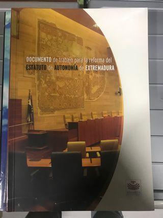 Reforma del Estatuto de Autonomía de Extremadura