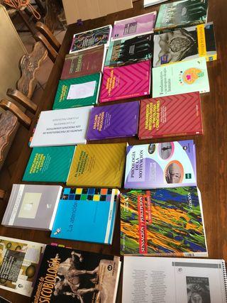 Libros Paicología UNED y Universidad