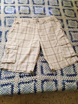 pantalón corto caballero sprigfield cuadrosc
