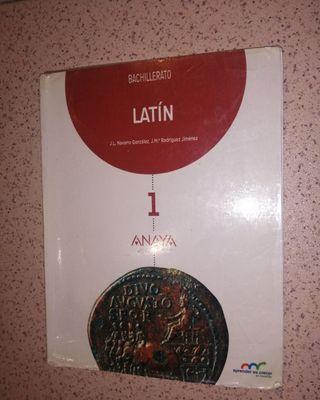 Latin, Bachillerato. Editorial:Anaya
