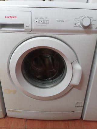 lavadora Corberó 6kg 1000 rpm A+ con garantía