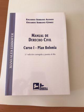Manual de derecho civil I Eduardo Serrano