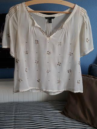 Blusa blanca mango