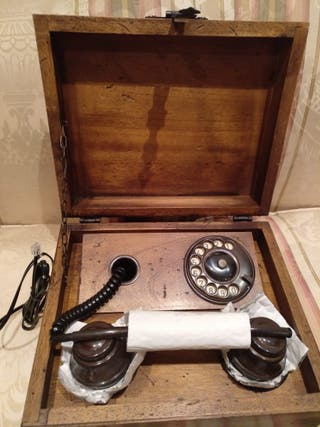 teléfono antiguo decoración
