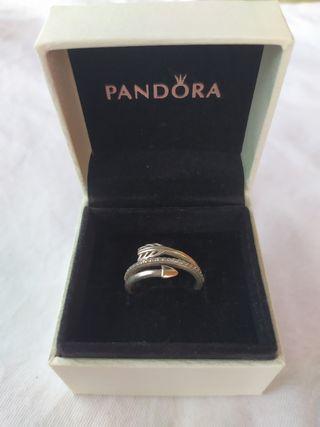 Anillo Pandora plata de primera ley flecha brill.