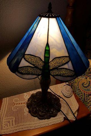lámpara tiffani