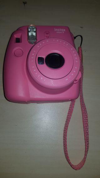 Cámara Fujifilm Instax Mini Rosa
