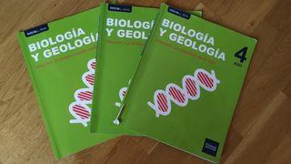 Libros Biología y Geología 4°ESO
