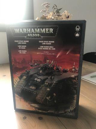Land raider del Caos (en caja) warhammer 40000
