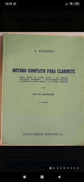Libros Clarinete