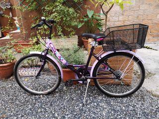 bicicleta de paseo o ciudad para niña/niño