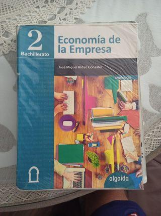 Libro 2 Bachillerato de Economía