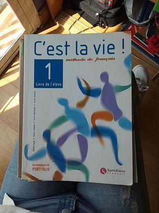 Libro Francés 1Bachillerato