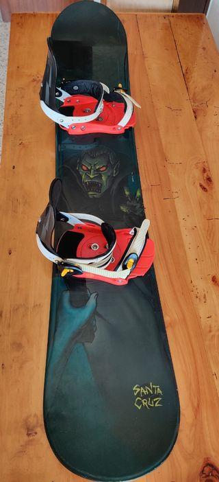 Snowboard Santa Cruz 162 + Botas Northwave APX