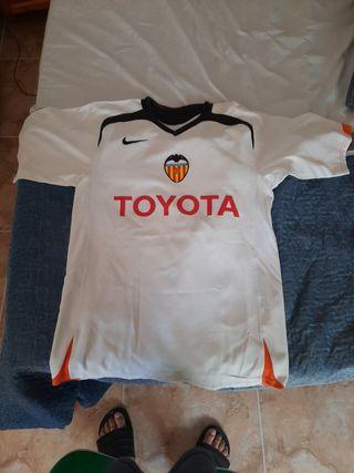 camiseta original VALENCIA 2005/2006 M