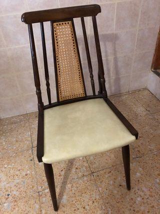 6 sillas de comedor antiguas