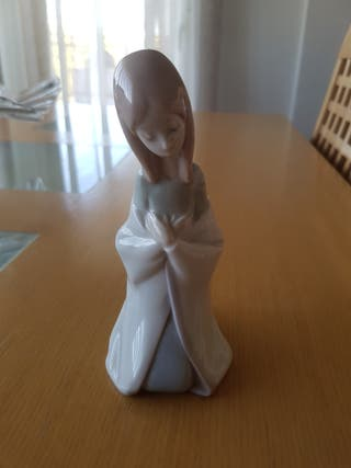 Figura decoracion Virgen