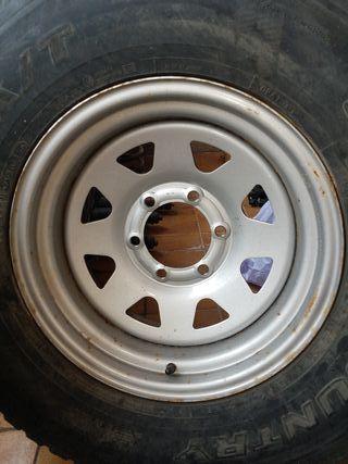 4 ruedas 275 / 70R16 para 4x4