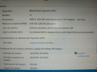Ordenador PC de sobremesa Compaq CQ1000PC