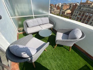 Conjunto de sofá para jardin