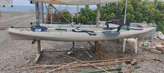 kayak de pesca completo.