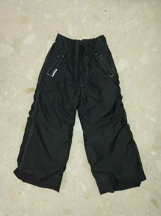 Pantalones de esquí negros niño