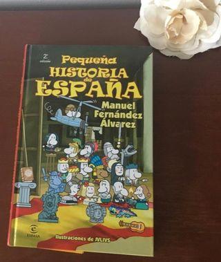 """Libro """"Pequeña historia de España"""" 2008"""