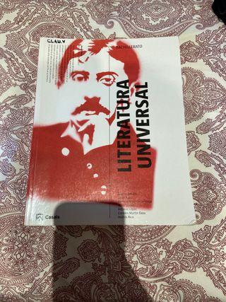 Libro literatura universal bachillerato