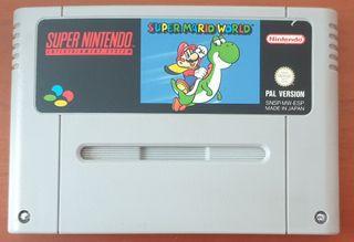 Juego Super Nintendo Super Mario World