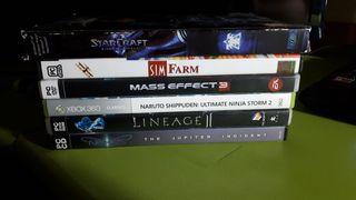 Juegos PC y XBOX