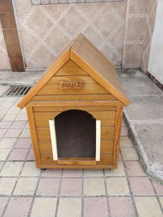 vendo caseta para perros pequeños