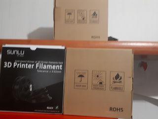 filamentos de plastico para impresora 3d