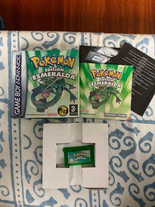 Pokemon Edición Esmeralda Completo