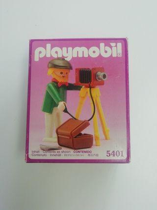 Playmobil fotógrafo... ref: 5401