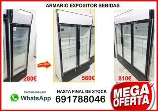 Armario Refrigerado Expositor expo1000vt