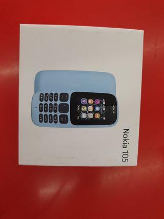 Móvil Nokia 105 Nuevo con garantia