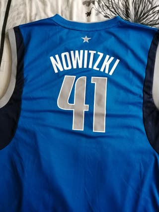 camiseta Dallas maverick nowiztki