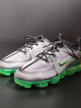 Nike Vapormax 2019 verde fosforito y negro