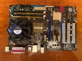 PLACA BASE ASUS CON RAM Y CPU